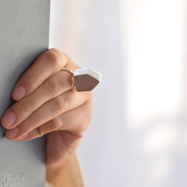 Anillo Casa 3D de plata 925