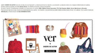 Bruselas participó de la 4ta edición de Ver + Diseño de Autor