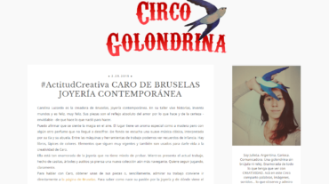 Actitud Creativa   Circo Golondrina